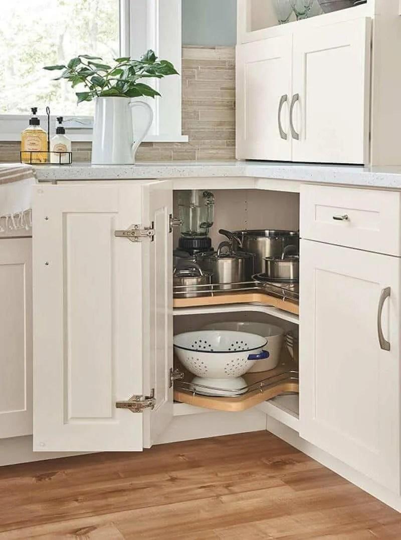 10 Best Corner Kitchen Cabinets PLUS 12 of Clever Corner ...