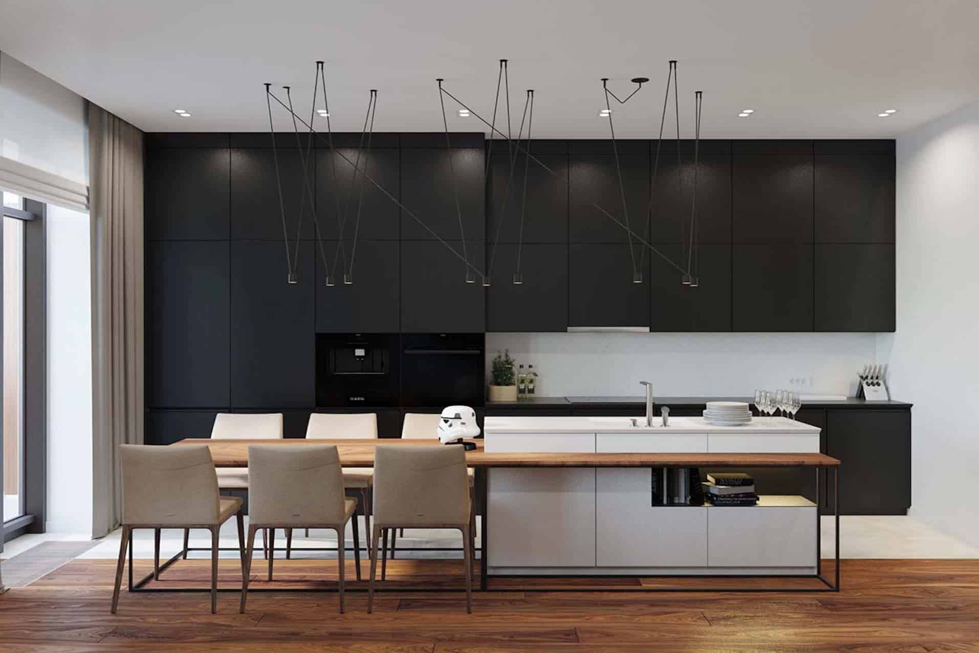 Lacquer kitchen cabinet,affordable luxury, pros and cons.