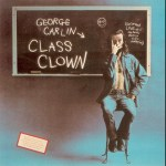 "The cover of Georges legendary 1972 album, ""Class Clown"""