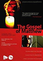 2010, The Gospel of Matthew - Pentecost Festival