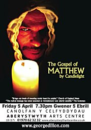 2010, The Gospel of Matthew by Candlelight - tour