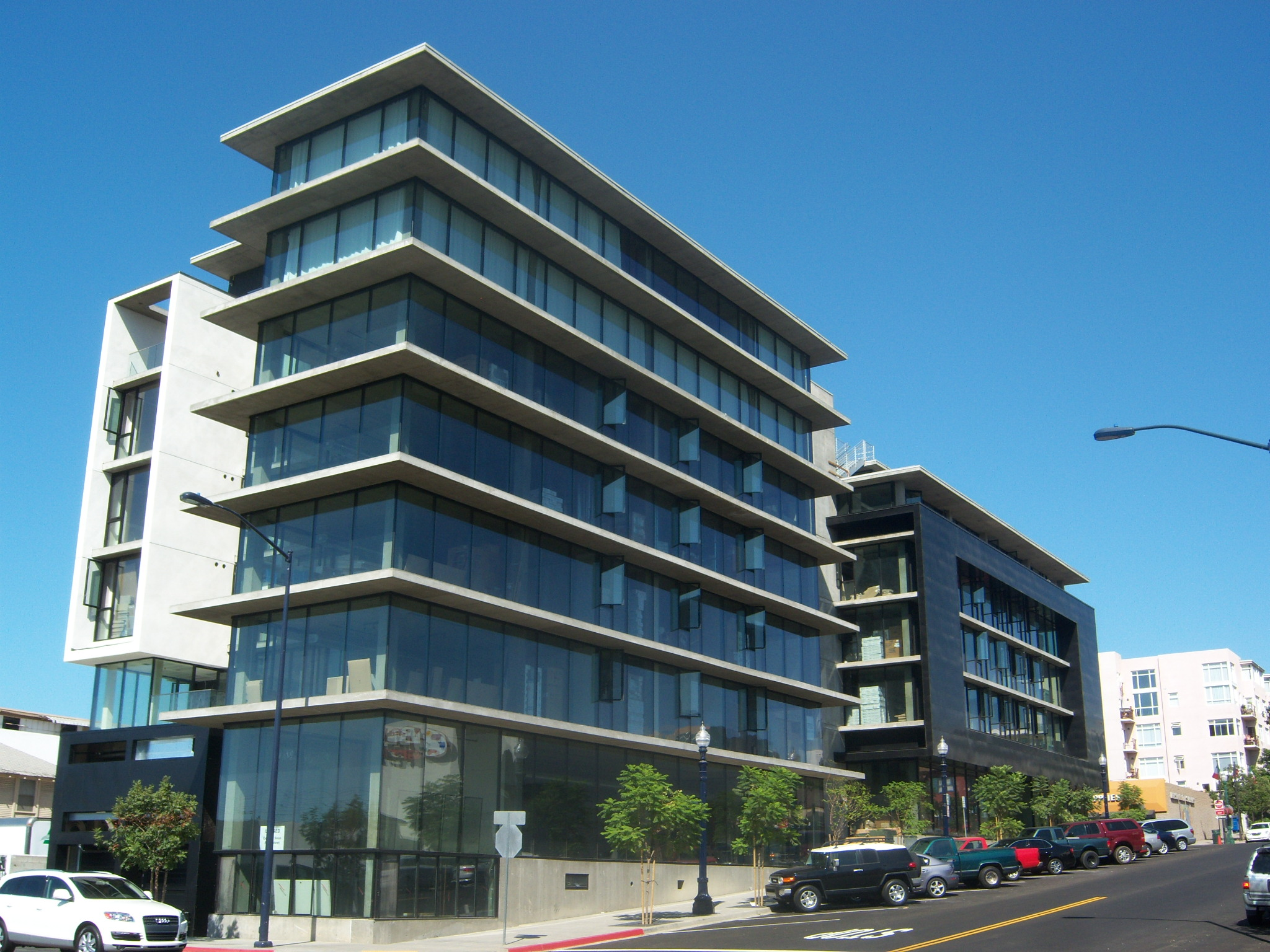 This new mixed use building in SD's Little Italy is called the Q.