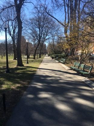 Public Gardens Path