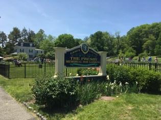 Presby Gardens Sign