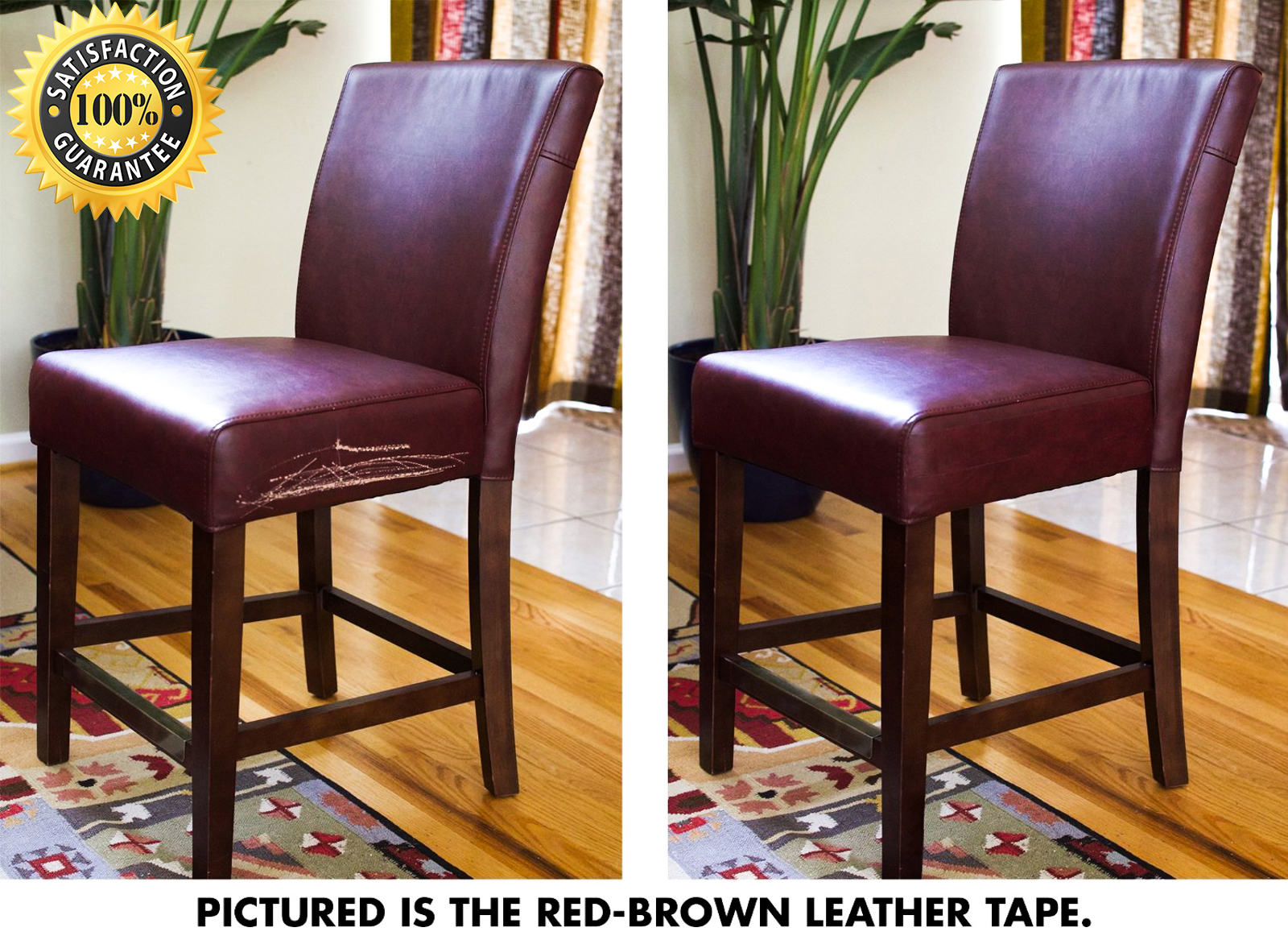 Pictures Of Leather Chair Repair Tape