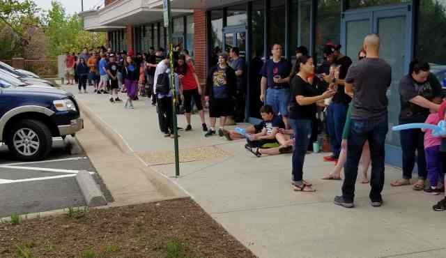 Free Comic Book Day - Waiting to Start