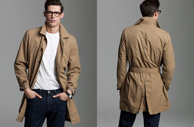 My Holborn Trench Coat from J.Crew Factory.