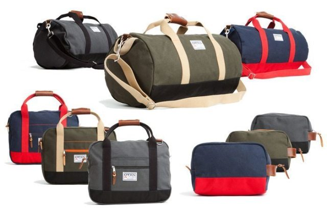 "Duffel bags, commuter bags and ""Hey, Handsome"" shaving kits from Owen & Fred on Kickstarter"