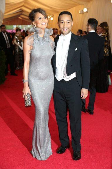 Christine Teigen and John Legend