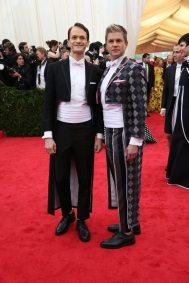 Ahhhh, theater people... Neil Patrick Harris and David Burtka go gay bullfighter chic.