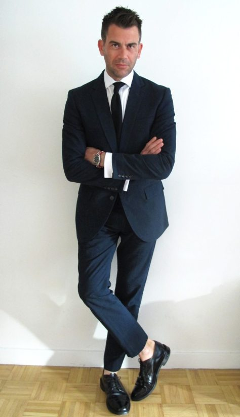 Japanese Cotton J.Crew Navy Seersucker Suit