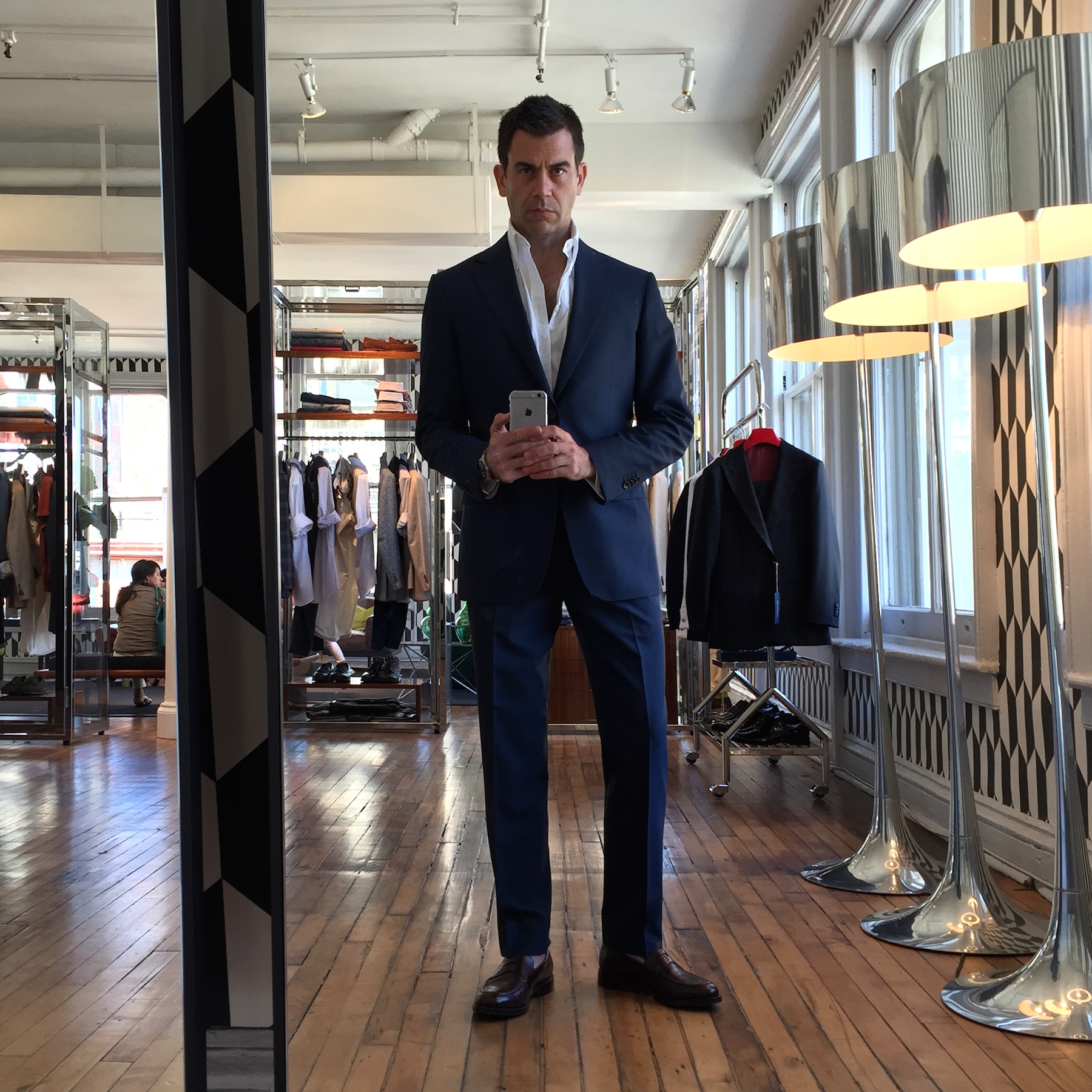 My First Suitsupply Experience – George Hahn