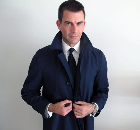 Jim Cutler Coat buttoning
