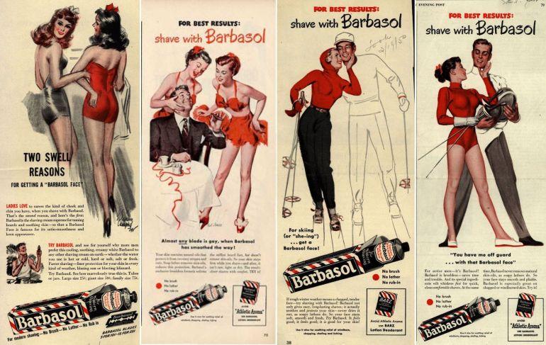 barbasol-vintage-ads