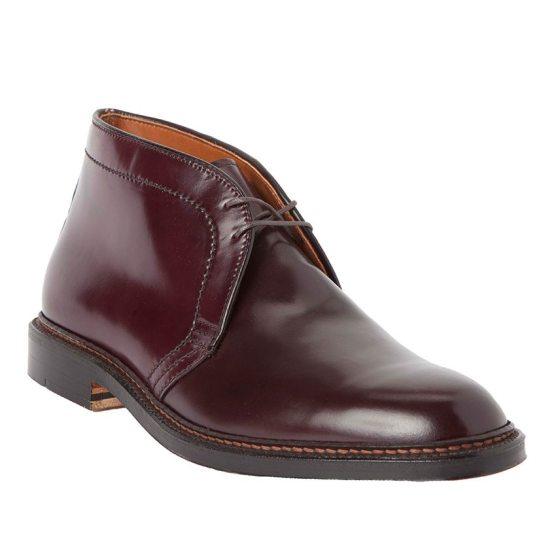 Alden Chukka Boots in Color 8 (burgundy)