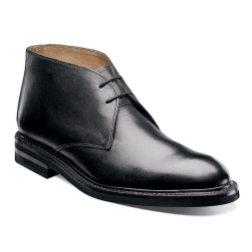 Florsheim Constable Chukka in black (rubber sole)