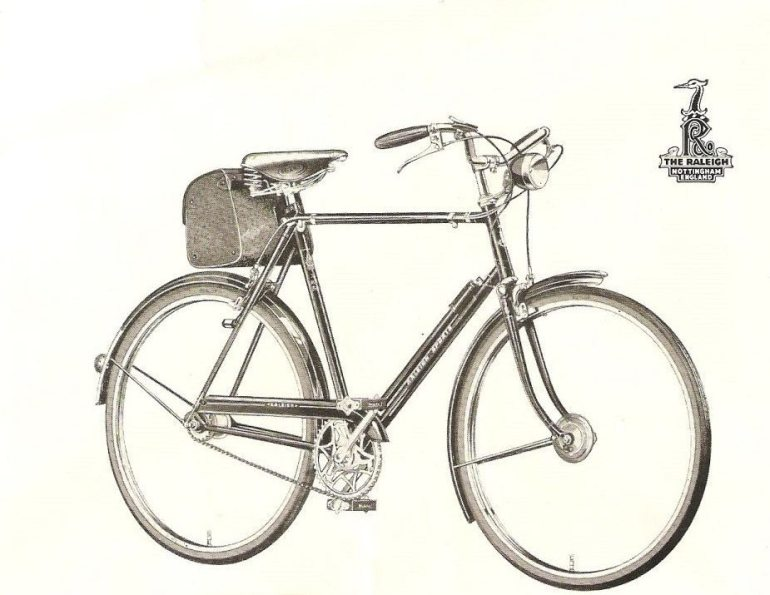 1950s Raleigh Sports
