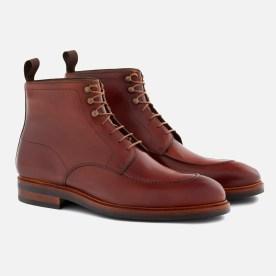 Gallagher Boot in tan Italian calfskin