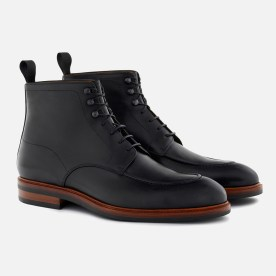 Gallagher Boot in black Italian calfskin