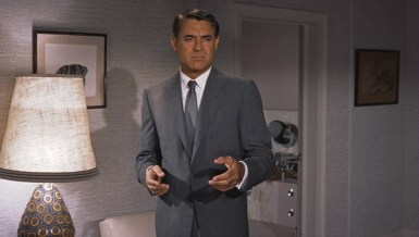 "Cary Grant (wearing Kilgour) in ""North by Northwest"" (1959)"