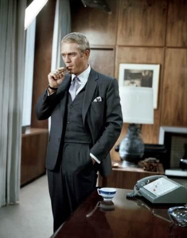 """Steve McQueen in """"The Thomas Crown Affair"""" (1968)"""