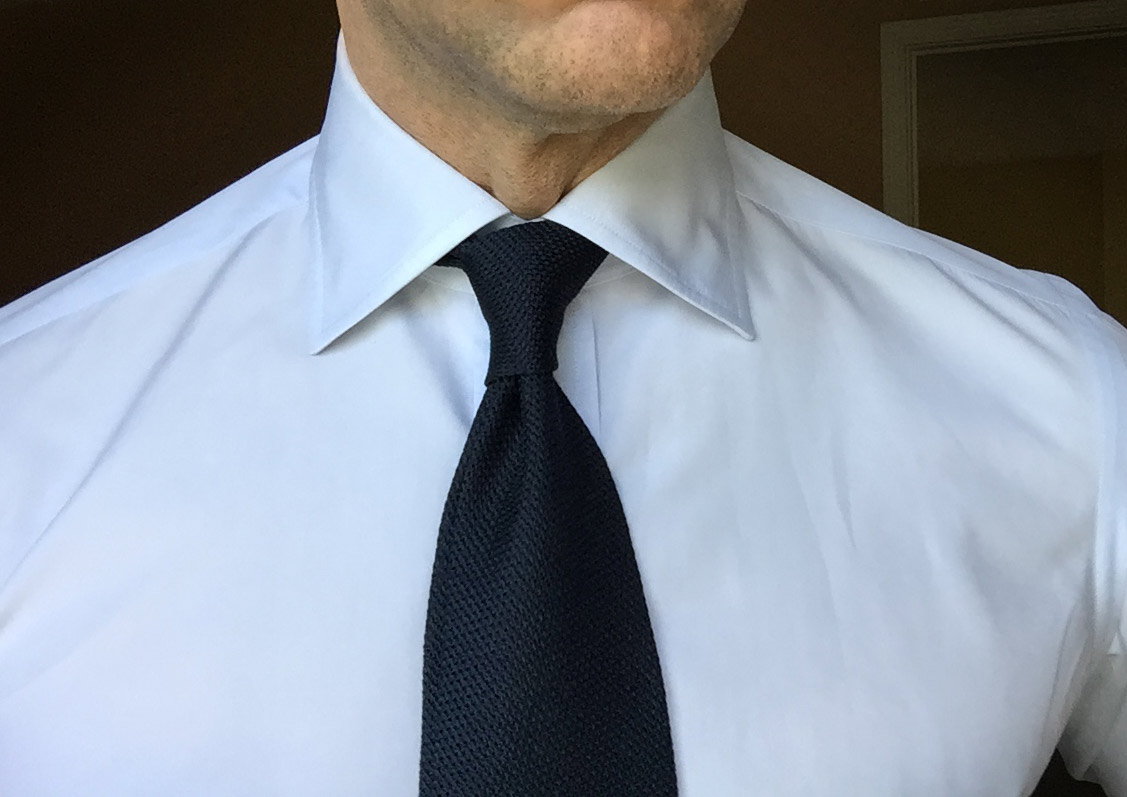 Affordable grenadine ties from chipp neckwear george hahn yours truly in my navy grenadine from chipp shirt from kamakura ccuart Images