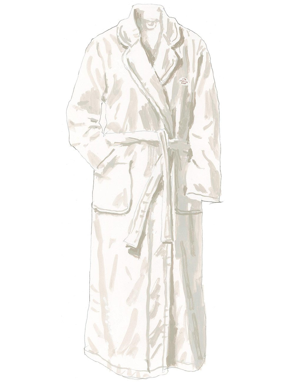 6a95a7dd3f The Shepheard s Hotel Cairo robe from The J. Peterman Company.