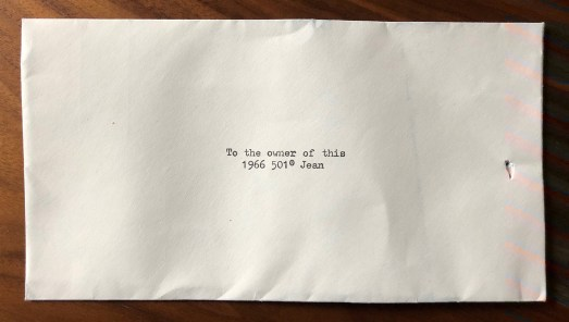 Levi's Vintage Envelope