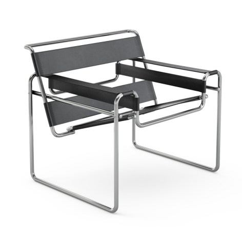 Marcel Breuer's Wassily Chair.