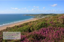 View from Woolacombe Down