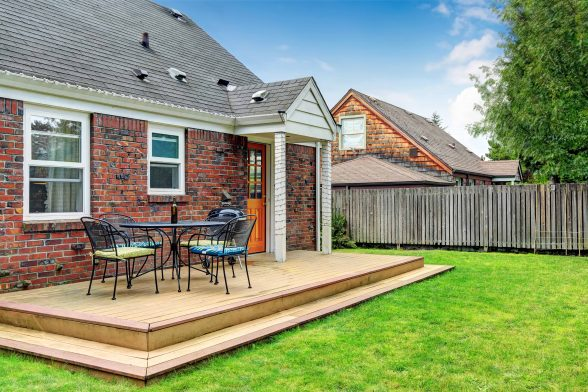 how to build a wooden patio deck blog