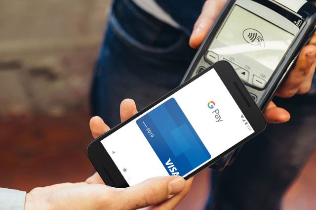 Google pay contactless
