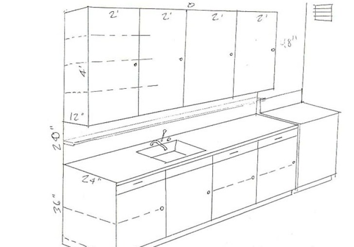 Kitchen Cabinet Standard Drawer Height