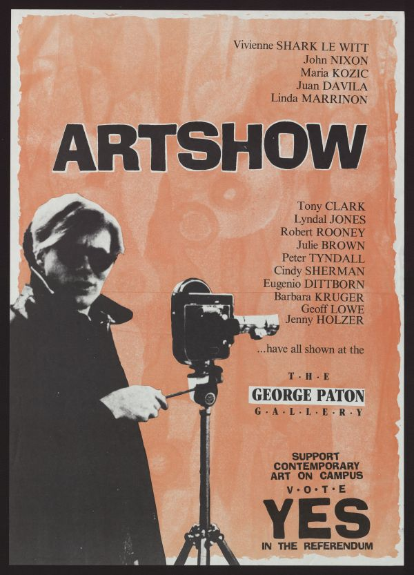 Exhibition Creativity & Correspondence George Paton Archive 1971-1990 And