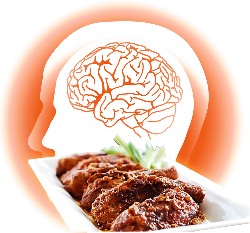 brain and food