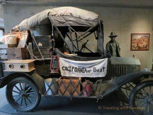 A 1931 Model T Ford recalls the Dust Bowl era.