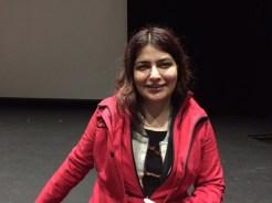The documentary filmmaker Rokhsareh Ghaem Maghami.