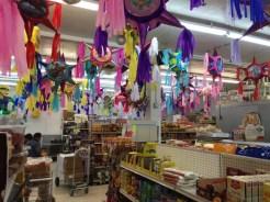 Tienda Santa Cruz is a popular all-purpose market on North Lombard Avenue.