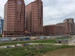 Covington, Kentucky, sits across the Ohio River.