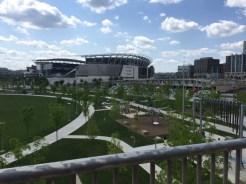 Paul Brown Stadium is the home of th NFL's Cincinnati Bengals.