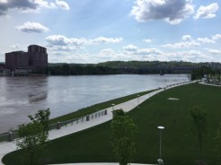 During the 19th Century, the Ohio River was part of the border between free and slave territory.
