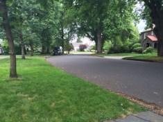 Wide streets, upscale homes speak to the affluence of Alameda Ridge.