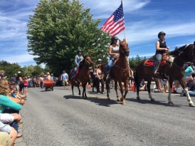 Every parade has to have horses, right?