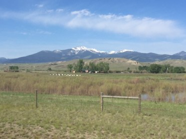 "They call Montana ""Big Sky Country"" for a reason. Here's a photo taken near Deer Lodge."