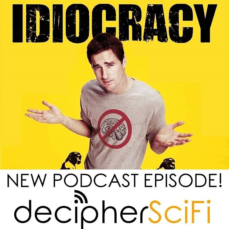 *Prophetic*, is the word you are looking for I believe. regram @decipherscifi New episode! Idiocracy!  Is Idiocacy mean-spirited? Prescient? Both? (episode at link in bio) #movies  #video #movie #film #films #videos #actor #actress #cinema #dvd #podcast #instamovies #star #moviestar #hollywood #goodmovie #instagood #flick #flicks #instaflick #instaflicks