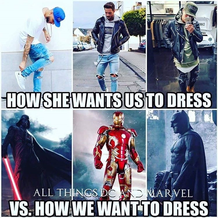 Iron man suit all the way. It even has Jarvis as a butler!  regram @mcg_venom Good morning  how many of us can related even though I love my Swag on from time to time lol #memes #fashion #cosplay #men  #swag #style #stylish #me #swagger  #photooftheday #jacket #hair #pants #shirt #handsome #cool #guy #boy #boys #man #model #tshirt #shoes #sneakers  #jeans #dc #marvel #starwars