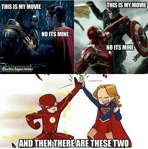 Accurate. regram @ninjahmad Who liked the supergirl & flash crossover? 🔸Leave a like for more 👍 🔸👉YouTube:NinjAhmad 👈 🔸👉Personal:@notninjahmad 🔸Partners(FOLLOW) 🔸@cawl_owf_dooty🔥 🔸@its.kadra ✨ 💊Tags💊(IGNORE): #ninjahmad #batman #joker #suicidesquad #teentitans #legendsoftomorrow #nightwing #youngjustice #henrycavill #benaffleck #deadpool #dawnofjustice #dcnation #barryallen #theflash #justiceleague #brucewayne #flash #arrow #dcuniverse #supergirl #marvel #gotham #superman #comics #dccomics #dc #wonderwoman #batmanvsuperman #superhero