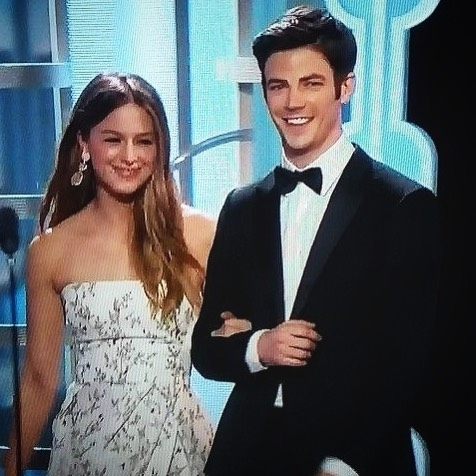 It's not shipping when it's FRICKIN FATE! Look at them. regram @superflashofficial ———————————————————————————————————————— Had to post this!!! Such cuties!!!#goldenglobeawards2016 #melissabenoist #grantgustin #flashandsupergirl #barryandkara #karaandbarry #zorallen #supergirl #supergirlcbs #cbs #krypton #kryptonion #kryptonite #superkara #superzorel #theflash #fastestmanalive #speedster #universes #timetraveler #timetravel #lightingbolt #lightingspeed #lighting #speed #bolt #lightingstreak #streak #crossover #goldenglobeawards @melissabenoist @grantgust