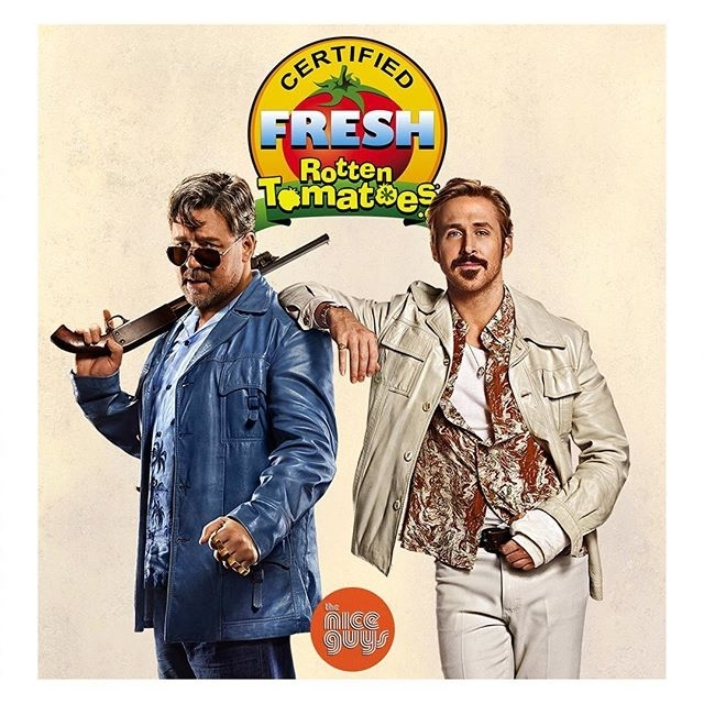This was so funny! Awkward at times, and had a boring section but plenty of laugh out loud moments. regram @theniceguys Rotten Tomatoes has spoken: #TheNiceGuys is certified fresh! See for yourselves tonight and in theaters everywhere tomorrow.