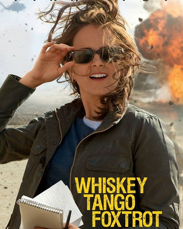 This was actually quite good!  A bit longer than it should be, but full of toilet humor and the absurdity of the war. regram @jedi_sanidras #MyDailyMovie #Day538 Watched #WhiskeyTangoFoxtrot I figured it would be #Funnier than it actually was it was more of a #Comedy #Drama but it was still good. It's just the trailer was a bit deceiving. If anyone has a #movie Suggestion put it in the comments below. #TinaFey #MargotRobbie #BillyBobThornton